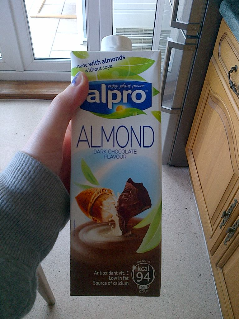 Alpro dark chocolate almond milk – Vegan with an opinion